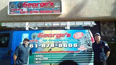 George's Heating & Air Conditioning Inc.'s Business